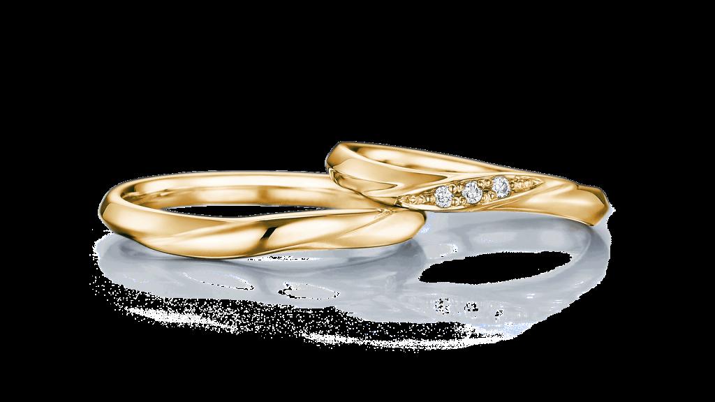 I-PRIMO(アイプリモ)のイエローゴールドの結婚指輪4