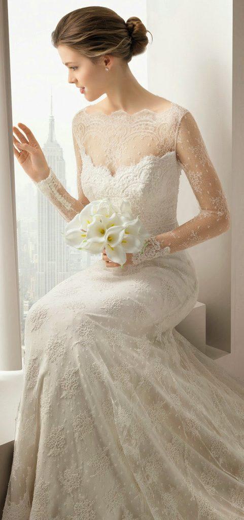 【ウェディングドレス】 プリンセス 海外風 ALESSA 20693