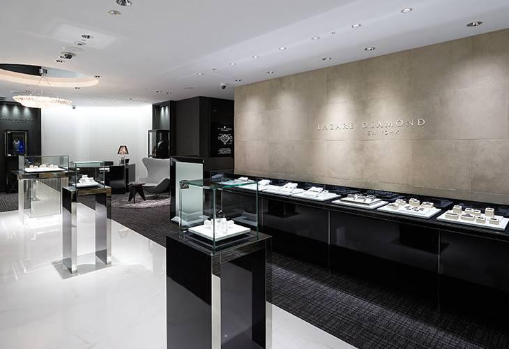 全国のラザール ダイヤモンド取扱店舗の画像