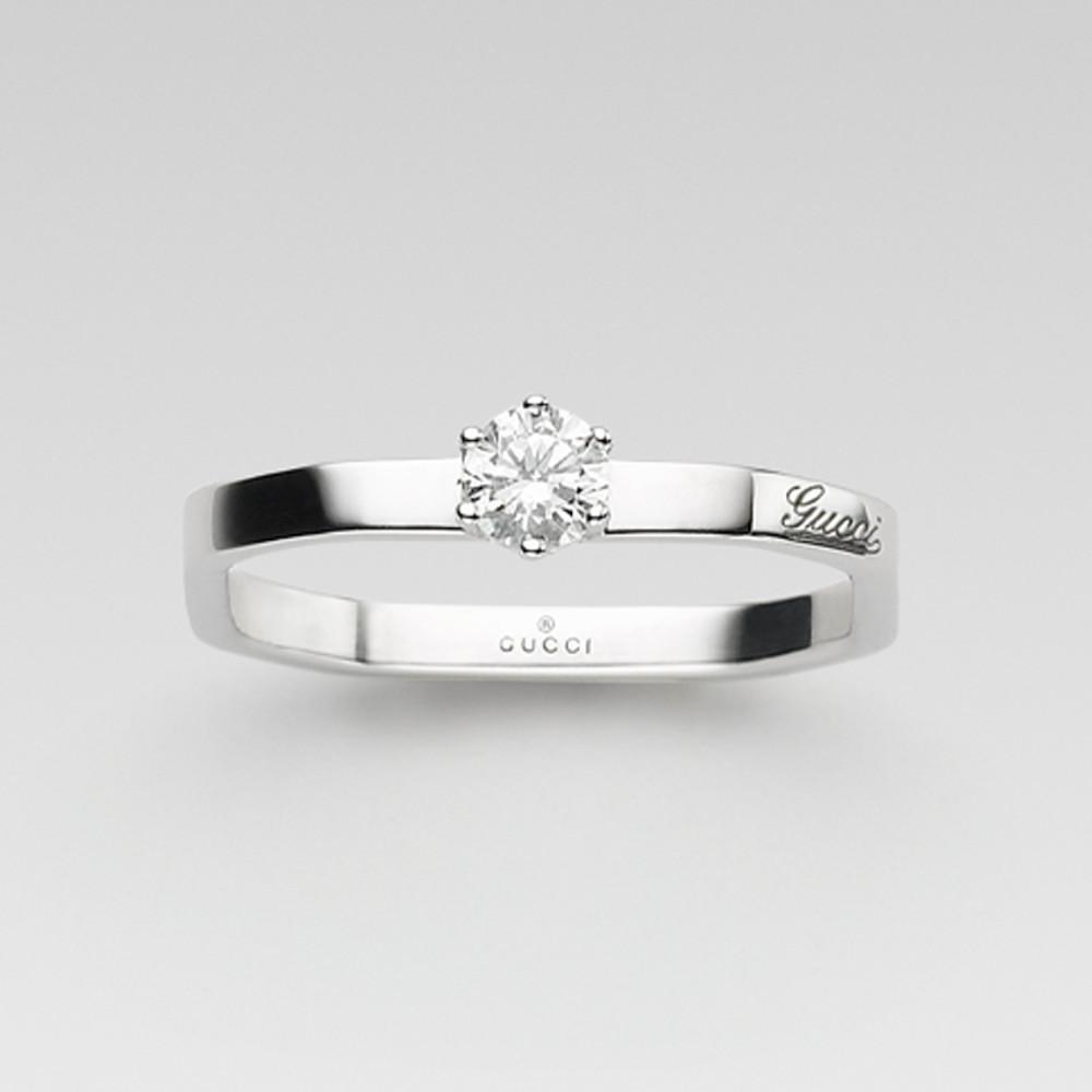 new style 37008 609cb 洗練されたデザインが素敵!GUCCI(グッチ)の婚約指輪のおすすめ ...