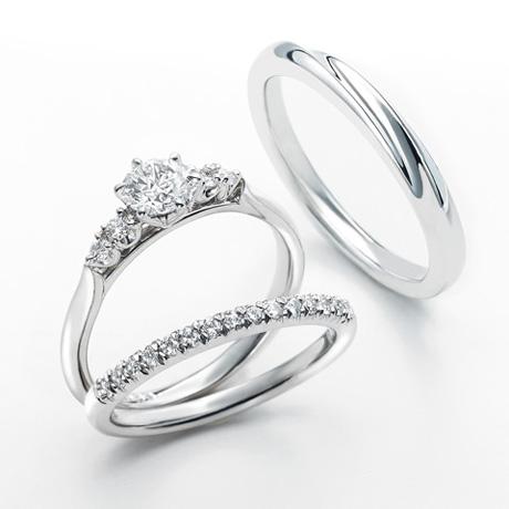 銀座ダイヤモンドシライシのセットリング04