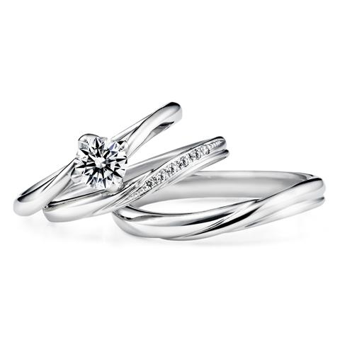 銀座ダイヤモンドシライシのセットリング05