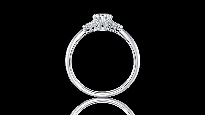 アイプリモ婚約指輪横から