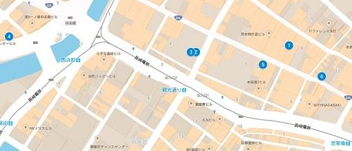 長崎ブライダルジュエリーマップ