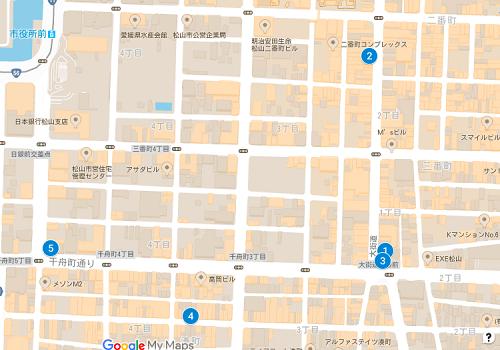 松山ジュエリーマップ