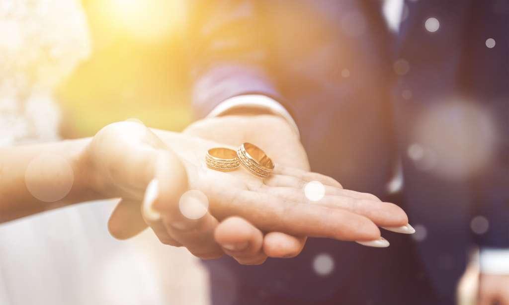 結婚指輪の贈与