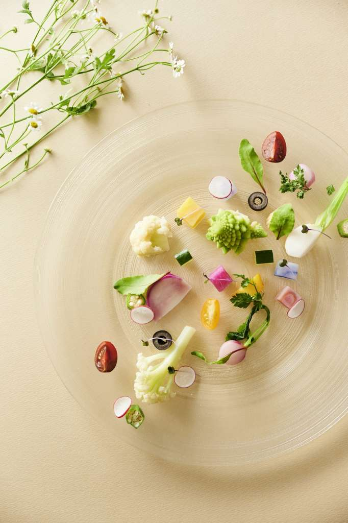 彩豊かな料理の写真