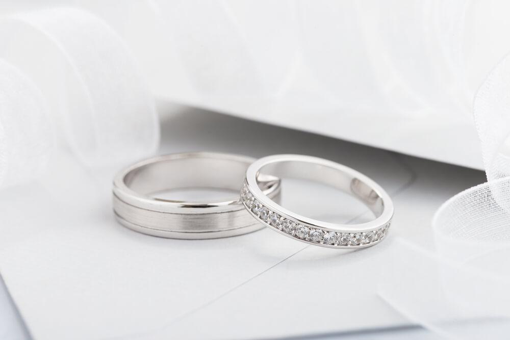 結婚指輪 Pt950