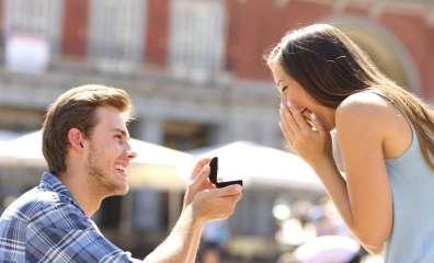 婚約指輪 反応