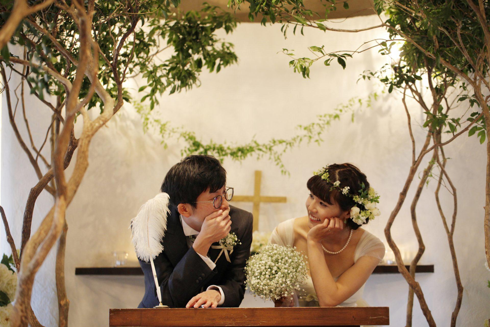 アンクィール 結婚式