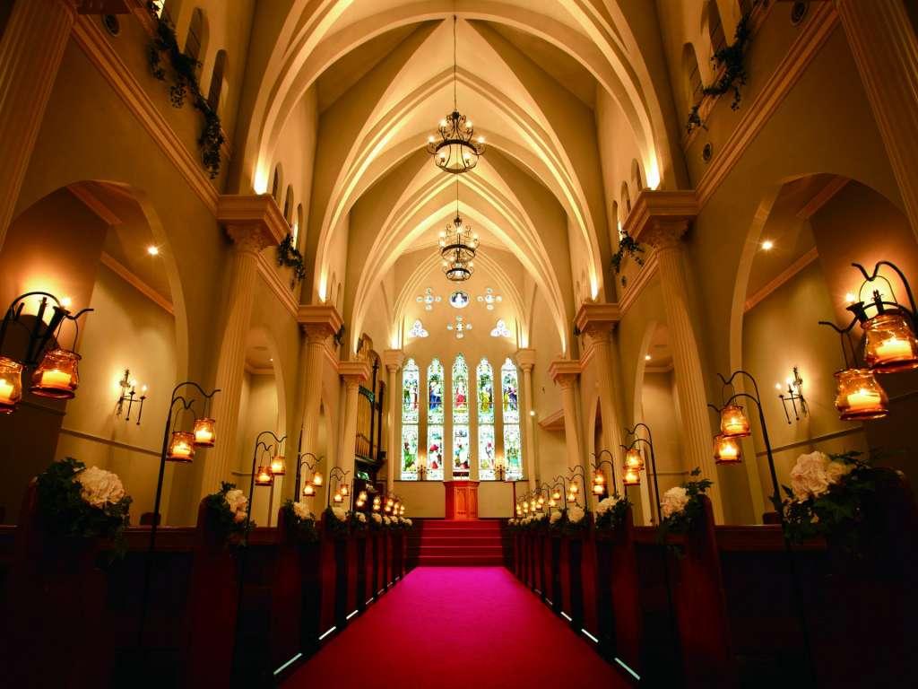 大阪セントバース教会 チャペル