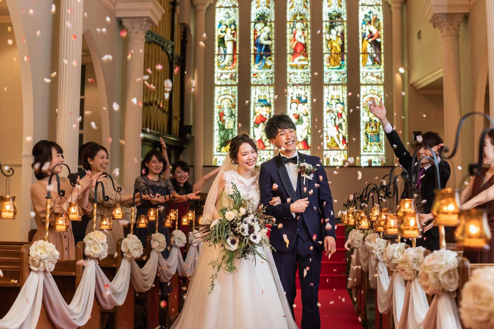 大阪セントバース教会 結婚式