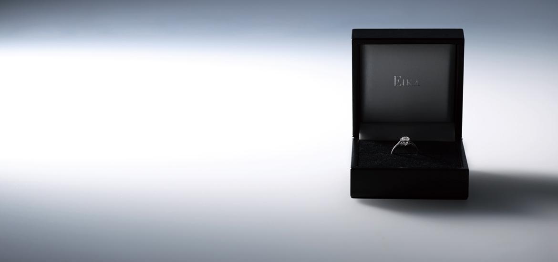 EIKAの婚約指輪専用ケース