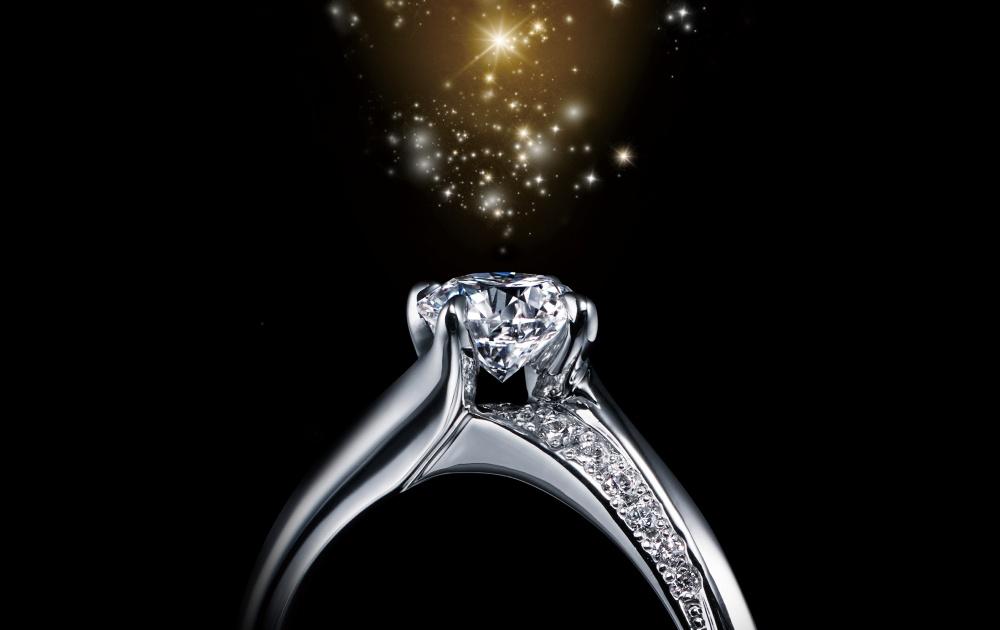 エクセルコダイヤモンドの指輪
