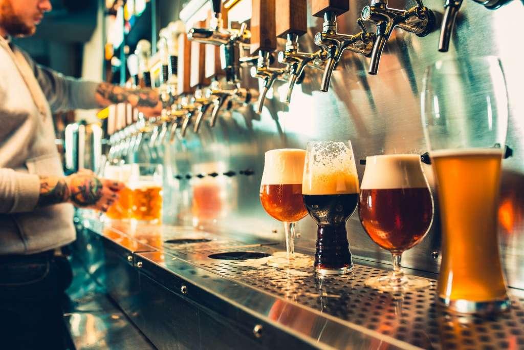 複数のクラフトビール