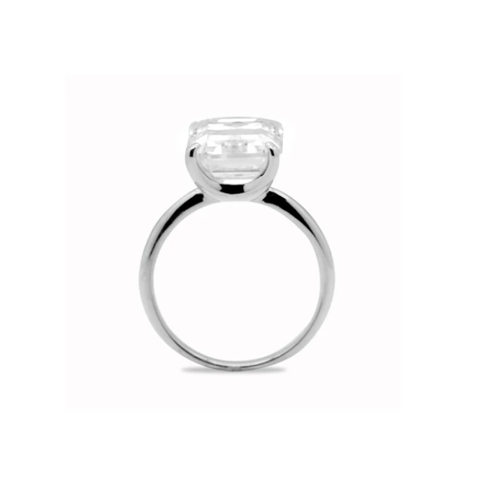 5.3ct Emerald Cut Ring