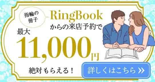 指輪のパンフレット請求ページへ